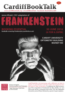 30 June 2016: James Whale, Frankenstein
