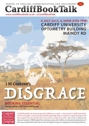 9 July 2015: JM Coetzee, Disgrace