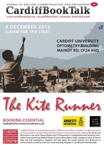 9 Dec 2015: Khaled Hosseini, The Kite Runner