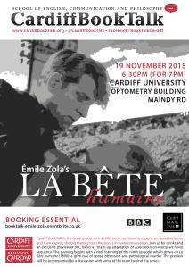19 Nov 2015: Émile Zola, La Bête humaine