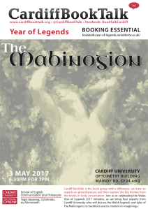 3 May 2017: Year of Legends—<i>The Mabinogion</i>